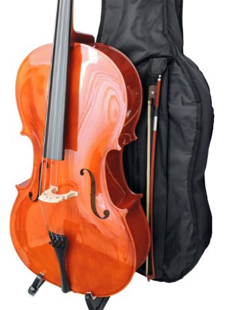 Violoncelo Barth 4/4 NT- Capa Bag + Breu + Arco - Completo!