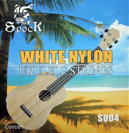 Cordas em Nylon P/ Ukulele modelo Concert - Spock Su04 - Imp