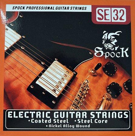 Cordas para Guitarra - 010 - marca Spock - SE32 Eletric Guitar Strings Importada