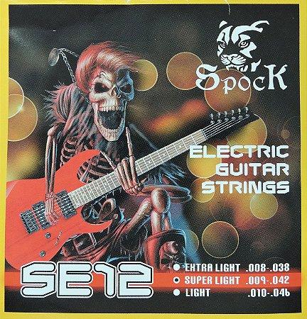 Cordas para Guitarra - 009 - marca Spock - SE12 Eletric Guitar Strings Importada