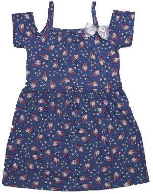Vestido Menina com Laço