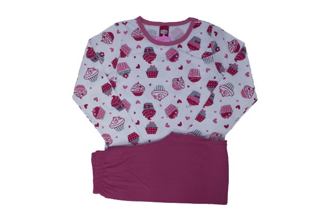 Conjunto Pijama Meia Malha