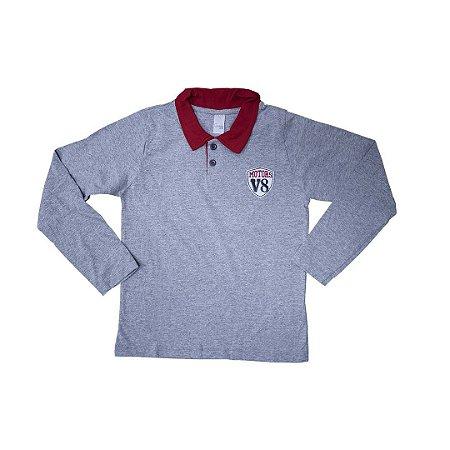 Camisa Polo Detalhe Pet
