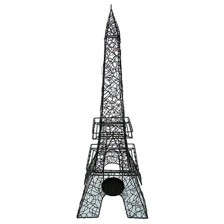 Enfeite de Metal Motivo Torre AA-47