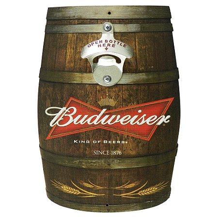 Abridor de Garrafa Barril Budweiser AB-10