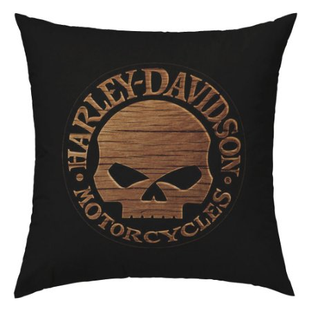 Capa para Almofada Harley Caveira AL-70 D