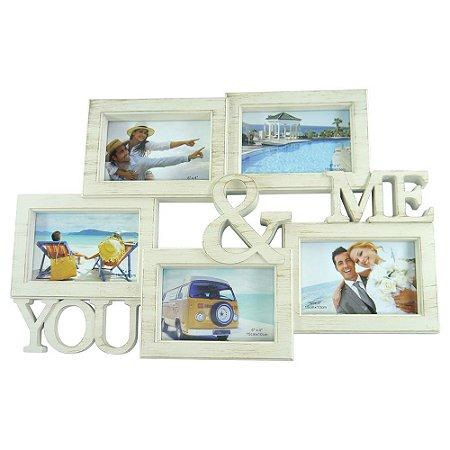 """Porta-retrato """"You and Me"""" AX-76"""