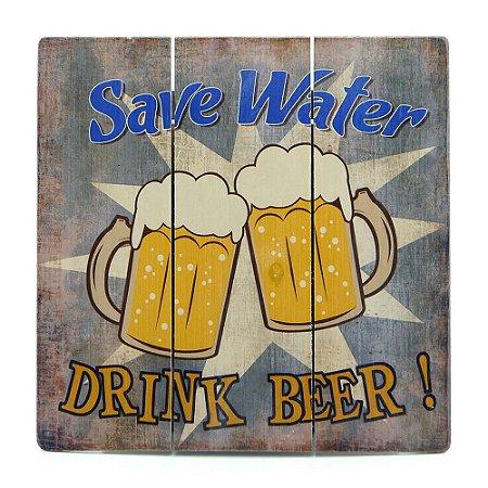 Quadro Save Water AY-23