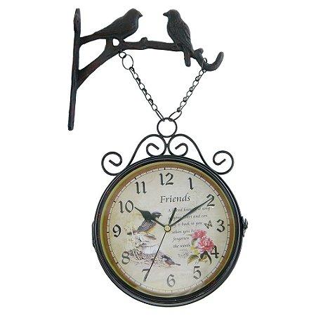 Relógio Estação Dois Pássaros AY-81