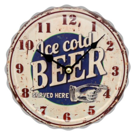 """Relógio """"Ice Cold Beer"""" CW-13"""