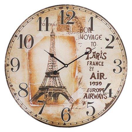 Relógio Bon Voyage Paris CW-90