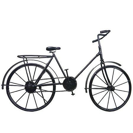 Bicicleta Preta Decorativa DS-50