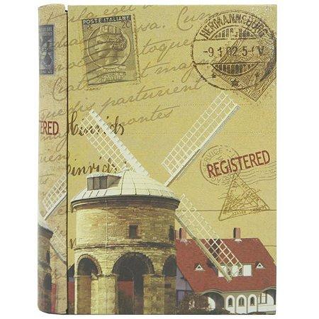 Caixa de Metal Livro Catavento DS-86