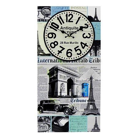 Relógio de Parede Pontos Turísticos França DX-27