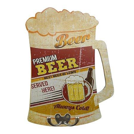 Cabideiro Placa Cerveja GC-63