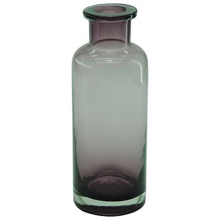 Vaso Garrafa Rosa de Vidro Grande GC-92