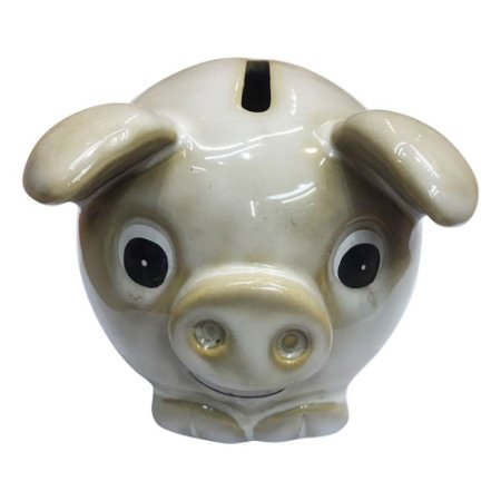 Cofre Porco Branco HC-27 B