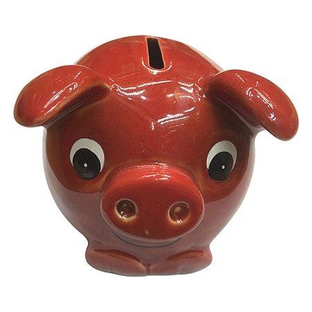 Cofre Porco Vermelho HC-27 D