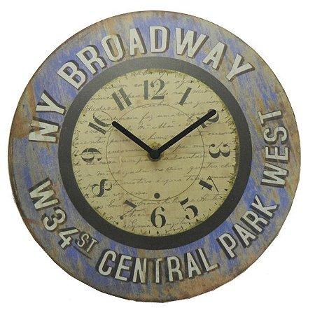Relógio New York Broadway LA-71
