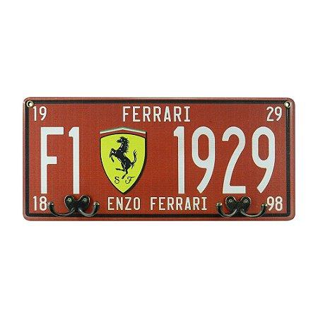 Cabideiro Placa Ferrari MH-37