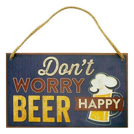 Placa Happy Beer MH-75