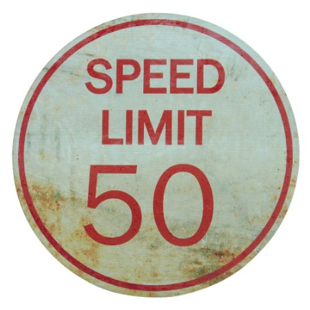 Placa Speed Limit MM-14