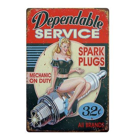 "Placa ""Spark Plugs"" MT-83"