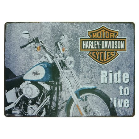Placa Ride to Live MT-97