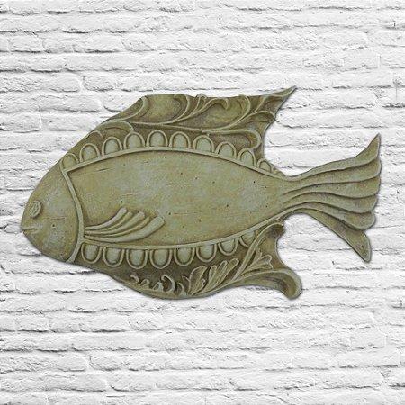 Peixe em Fibra Bege OU-19