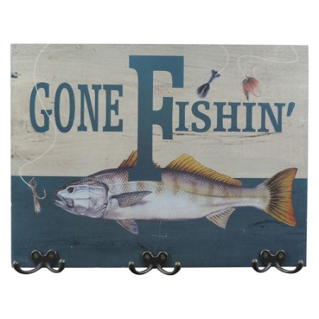 Cabideiro Gone Fishing QC-53