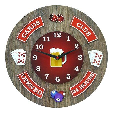 Relógio Card Club RE-55