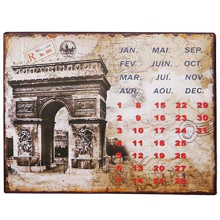 Calendário Decorativo RG-26