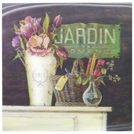 Quadro de Parede 3D Jardim SV-63