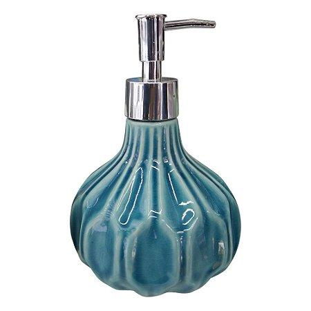 Saboneteira de Cerâmica Azul SV-94 B