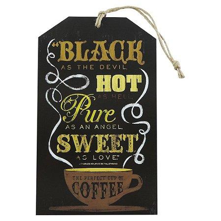 "Tag ""Black, Hot, Pure, Sweet"" TG-07"