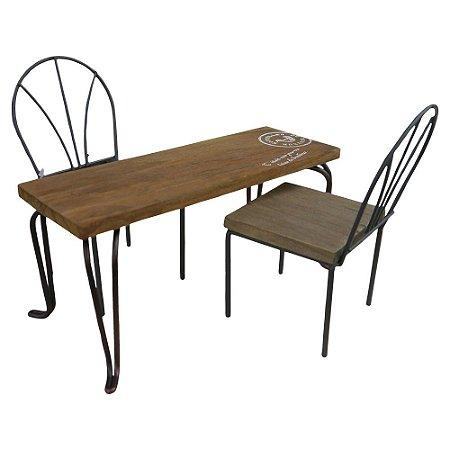 Enfeite Miniaturas de Mesa e Cadeiras UA-23