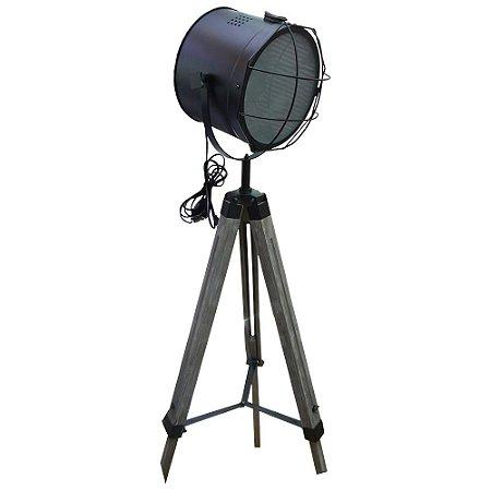 Luminária Spot Preto UA-66