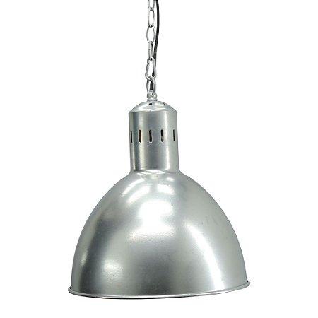 Luminária Pendente Prata UA-79