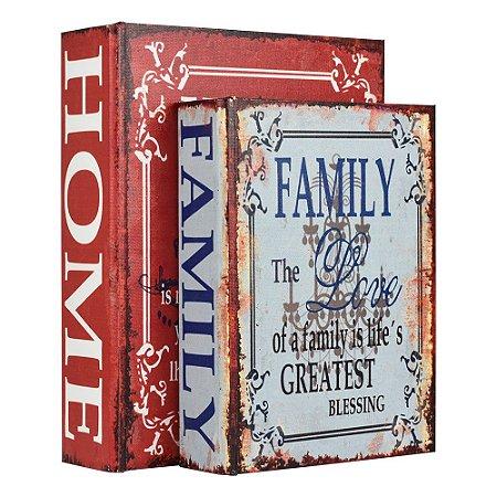 Jogo c/2 Porta Objetos Home Life YB-39