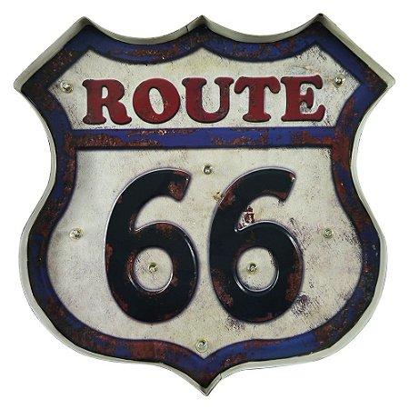 Placa de LED Route 66 ZZ-42