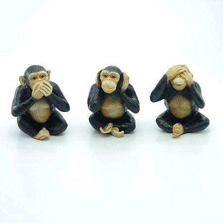 Enfeite Três Macacos Médios AX-94