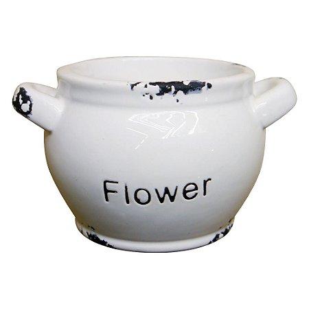 Jogo c/6 Vasos Flower em Cerâmica WZ-12