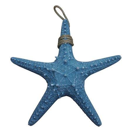 Enfeite Estrela do Mar Azul YD-32 A