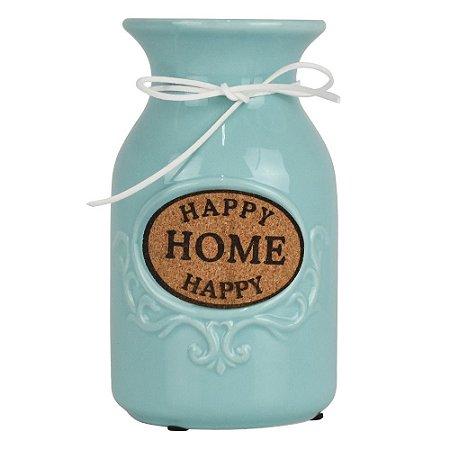 Vaso Happy Home Azul YF-49