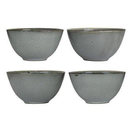 Jogo c/4 Bowls Grey YG-58