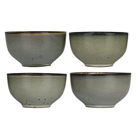 Jogo c/4 Bowls Rústicos YG-78