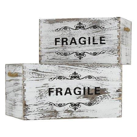 Jogo c/2 Caixas Fragile Grande YH-31 A