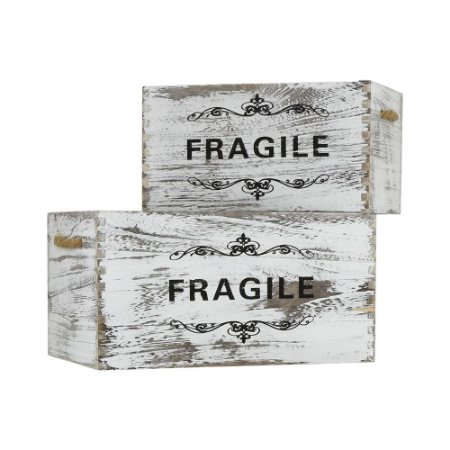 Jogo c/2 Caixas Fragile Médio YH-31 B