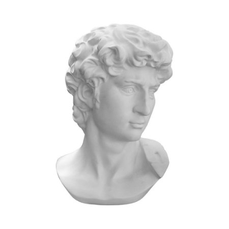Busto Davi Branco Pequeno YH-94 A