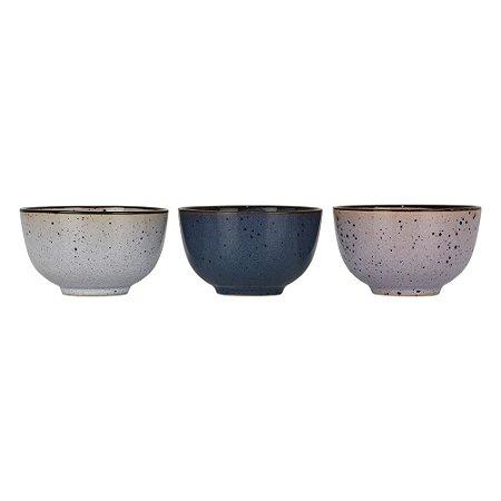 Jogo c/3 Mini Bowls YI-03
